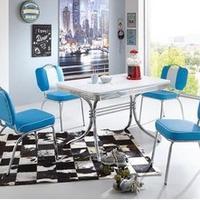 Retro- American Diner Möbel im Stil der 50er Jahre