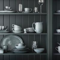 Geschirr in skandinavischem Design