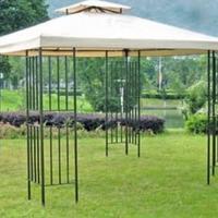 Grill- Pavillon Amazonas mit Luftauslass